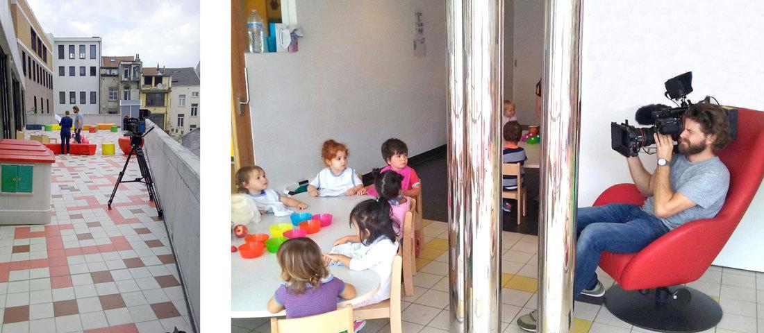 Nieuw Kinderland decor voor nieuwe infomercial Kind & Gezin