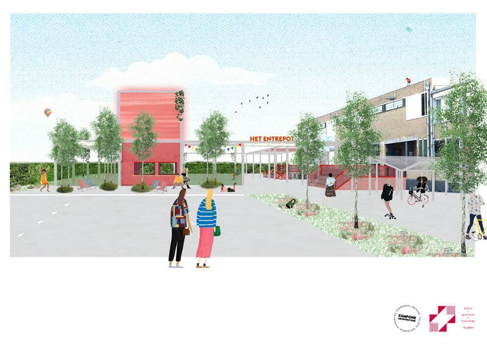 Kick-off construction Entrepot Bruges