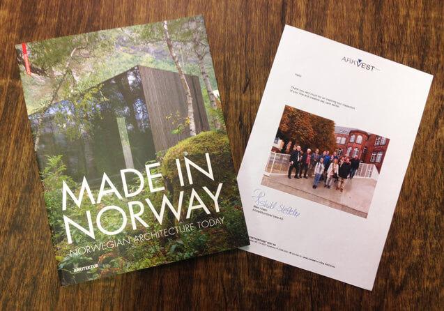 Norway based ARKVEST visits ZAmpone