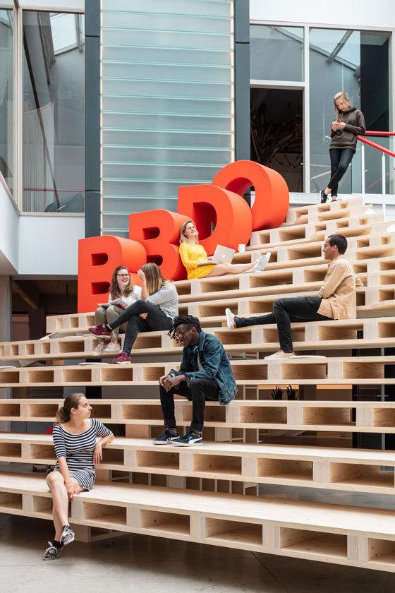 Tim Van De Velde portrays officespace BBDO Brussels