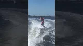Wakeboarding on video
