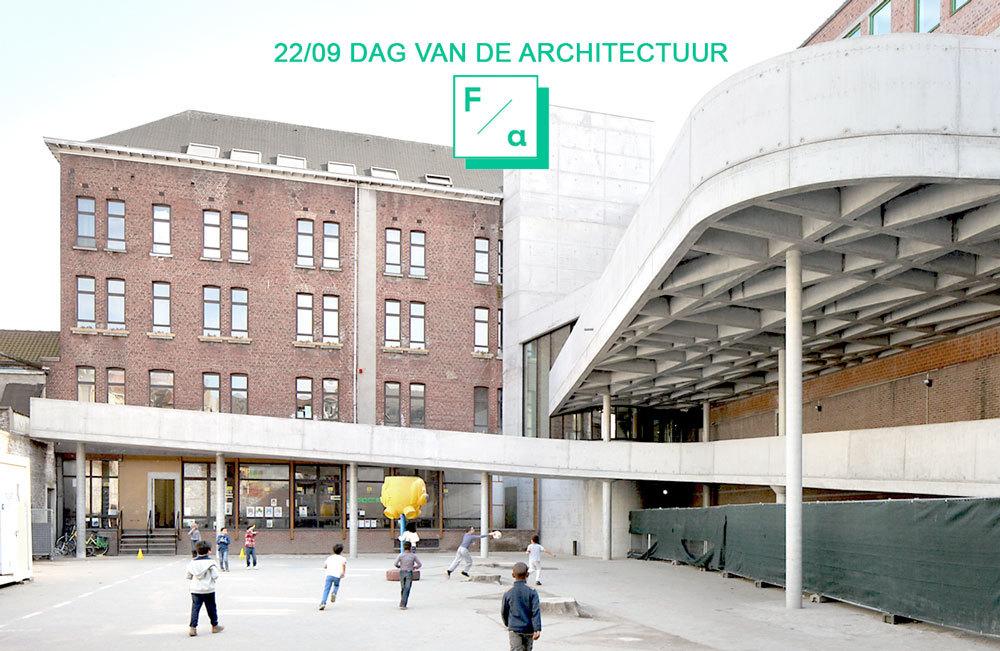 KOM ONS BEZOEKEN OP DE DAG VAN DE ARCHITECTUUR!