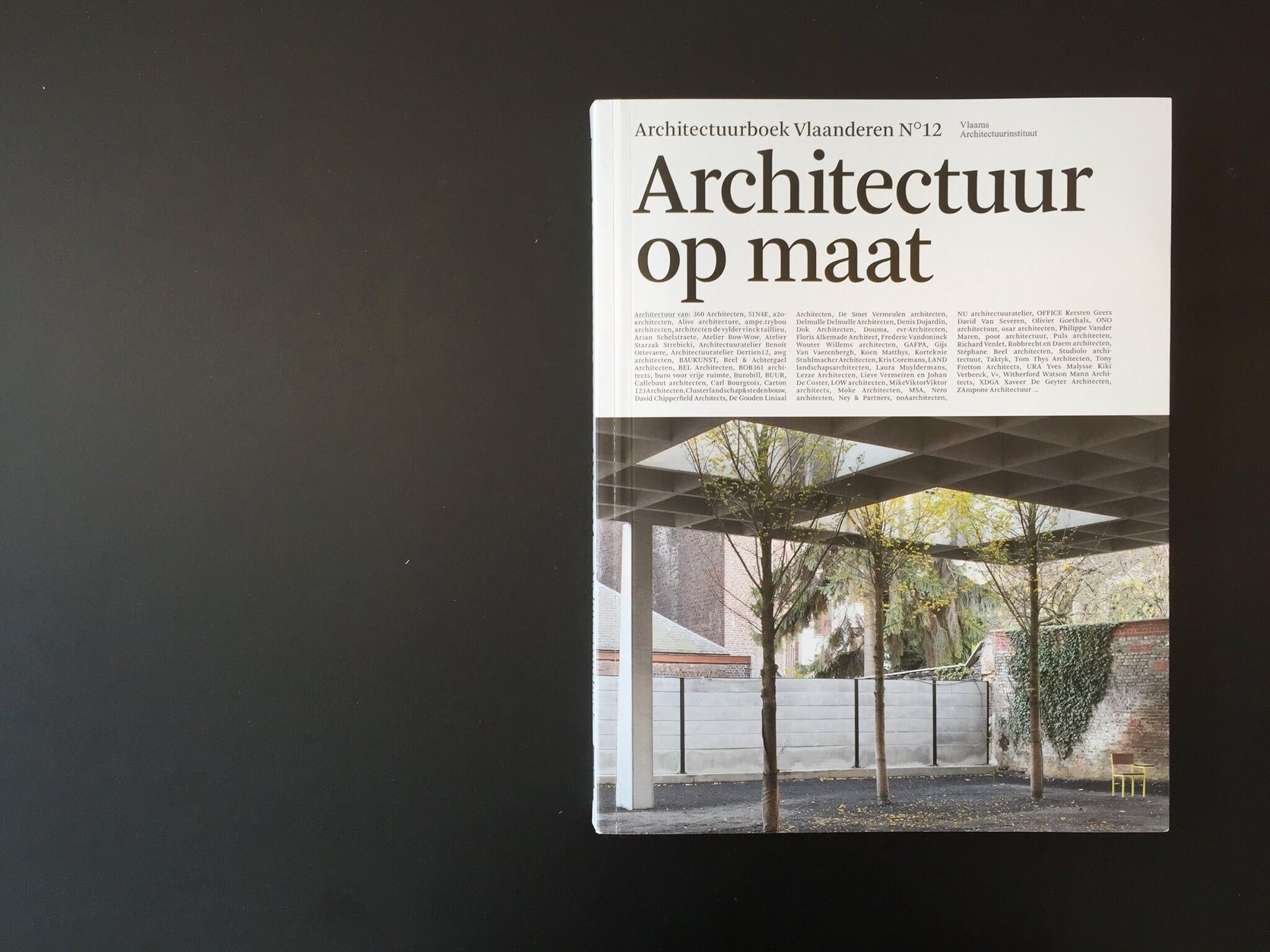 Nieuw Kinderland in Architectuurboek Vlaanderen n°12